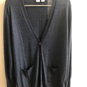 GAP Sweaters - GAP navy wool cardigan